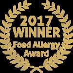 2017 WINNER Food Allergy Award