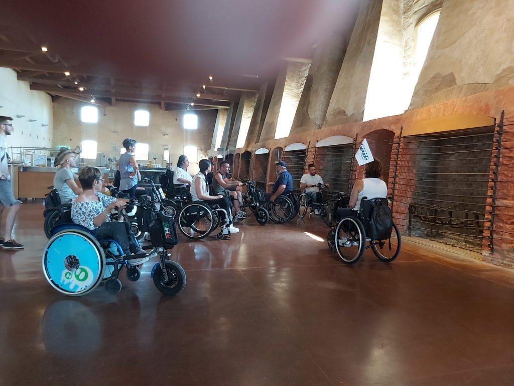 visita alla sala dei fuochi al Museo dei Marinati