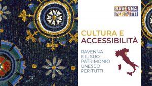 Copertina della Guida Ravenna Cultura Accessibile