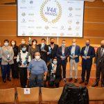 V4A® AWARDS Foto di gruppo con i premiati