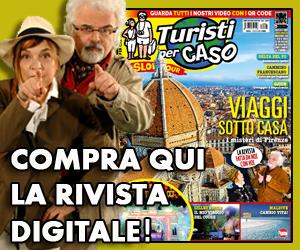 Copertina della rivista Turisti per Caso