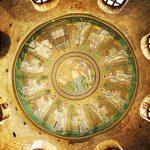 Battistero Ariano particolare della cappella a mosaico